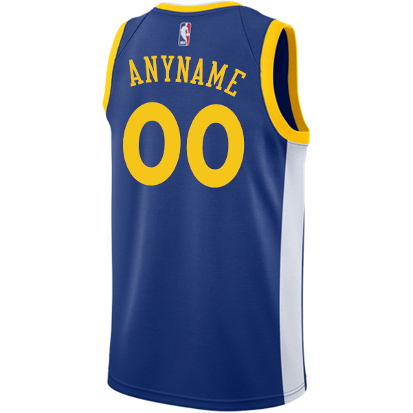 Golden State Warriors Nike Dri-FIT Youth Custom Swingman Icon Jersey - Royal 842694727